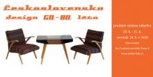 Furniture design exhibition Czechoslovakia 60s-80s